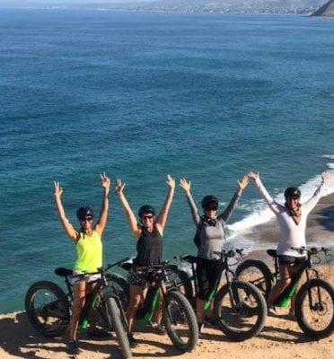 Baja California mountain biking tour