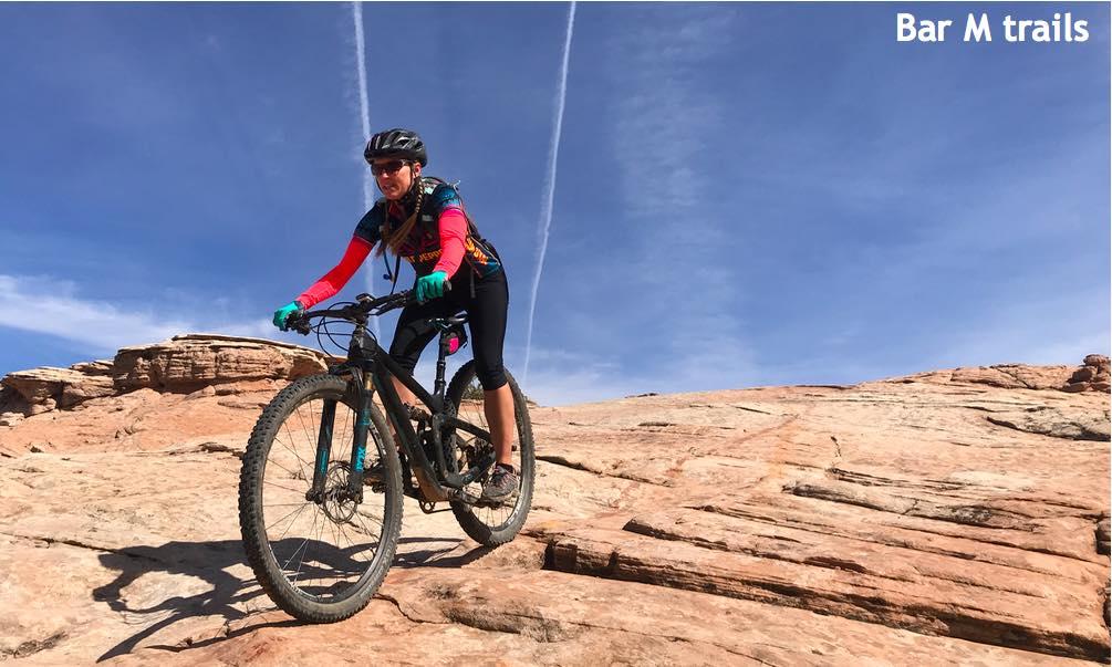 Bar M mountain biking trails