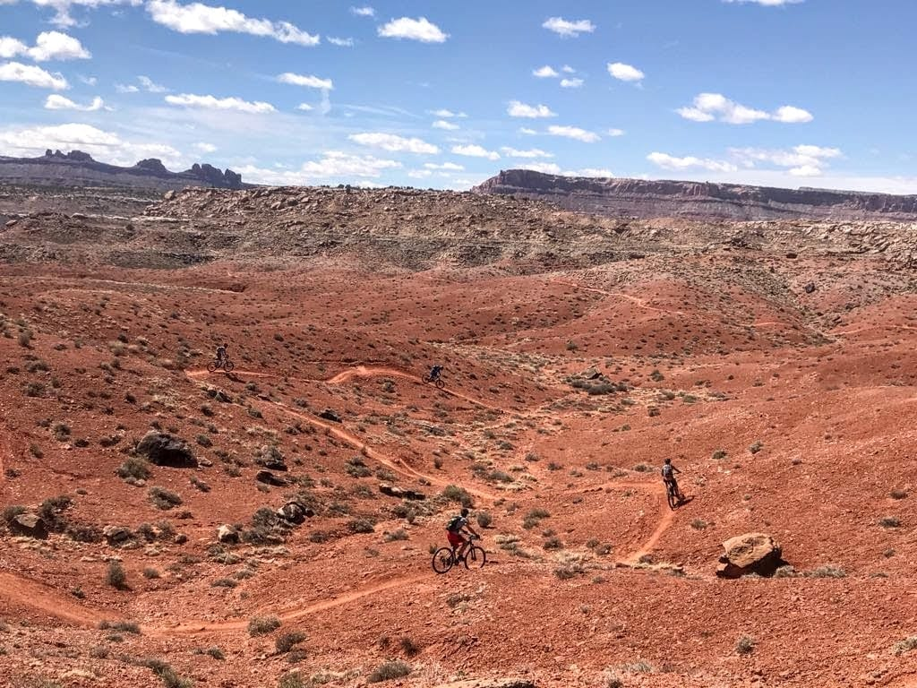 moab bike trails