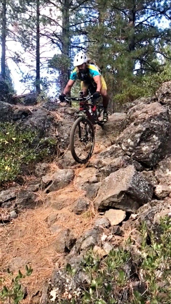 Bend mountain bike trails