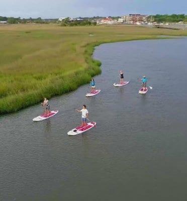 charleston kayak tours
