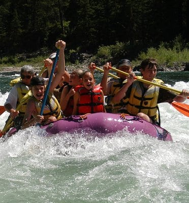 Jackson River rafting rental