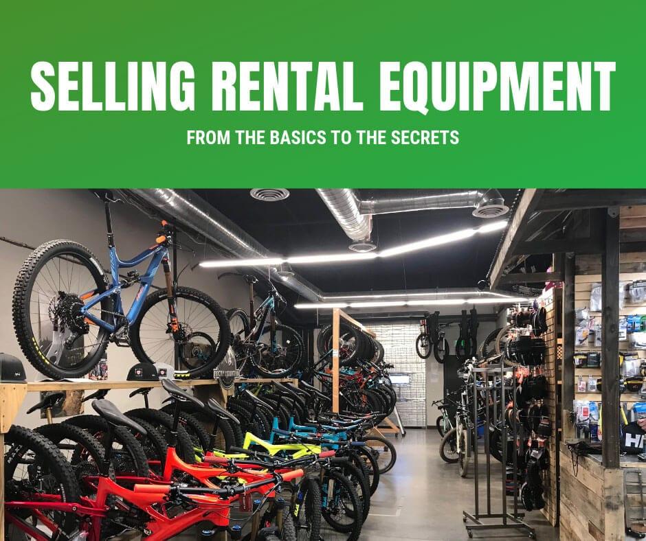 selling rental equipment