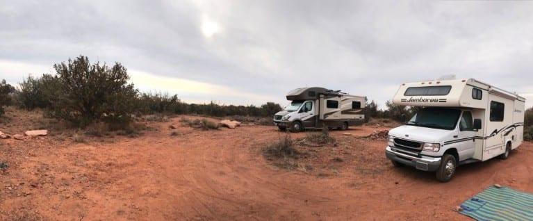 Sedona free camping 525