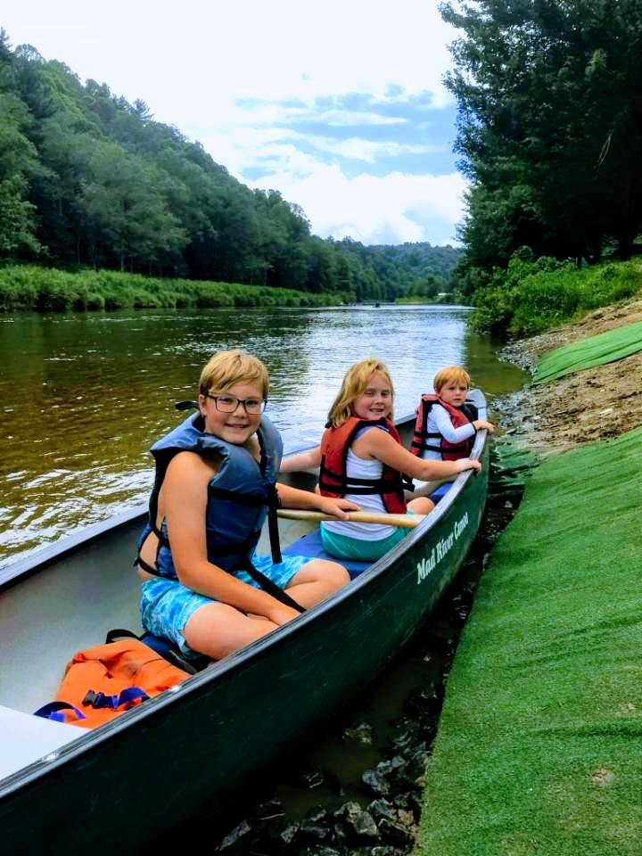 Jefferson canoeing