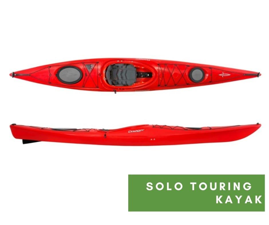 Touring kayak rentals