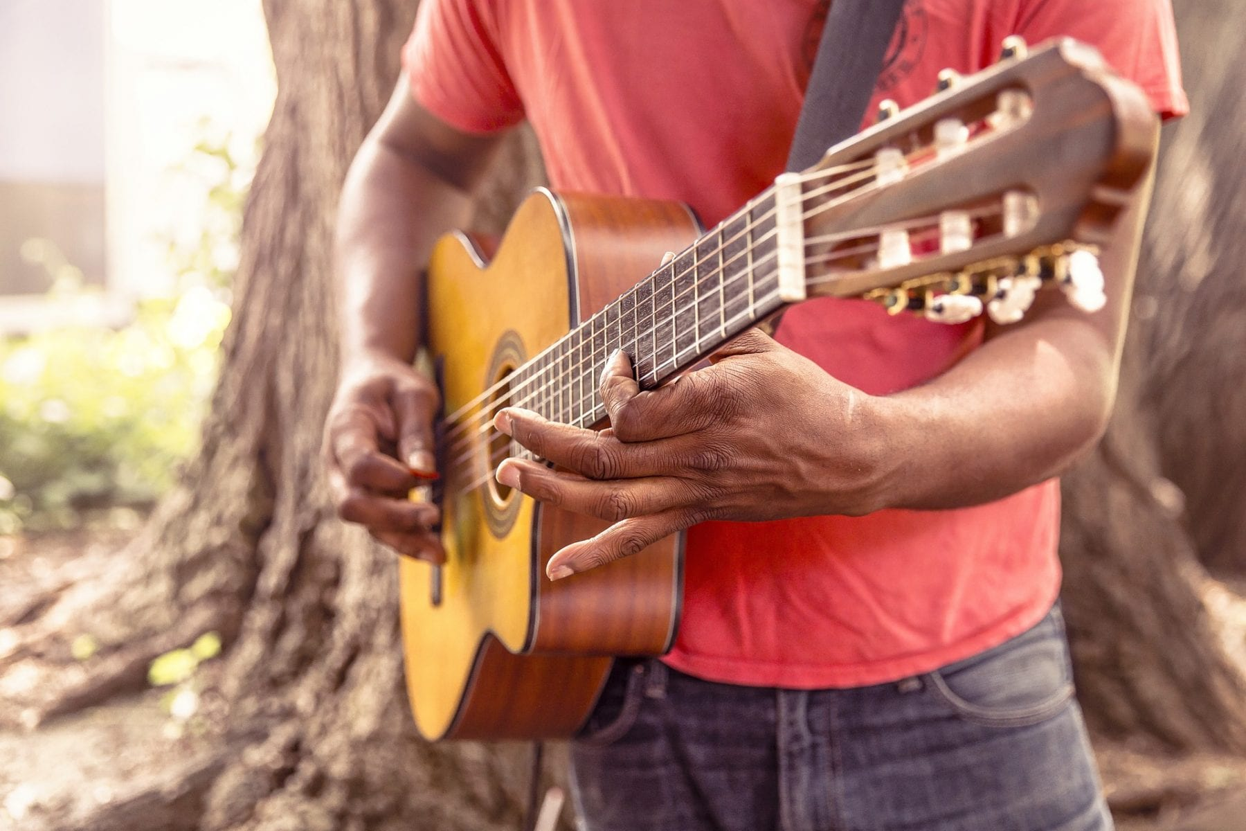 take up guitar