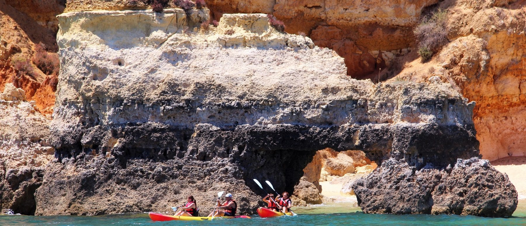 lagos portugal kayak tour