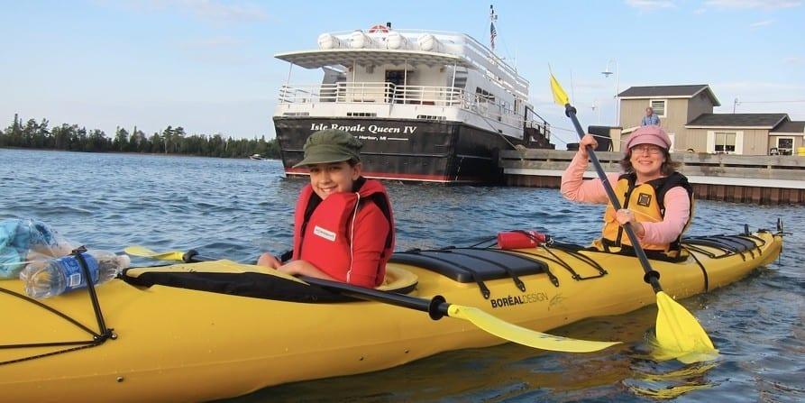 copper harbor kayak tours