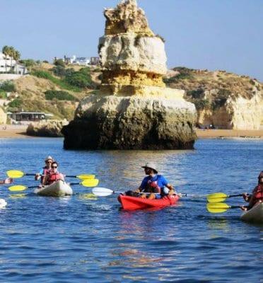 lagos portugal kayak tours
