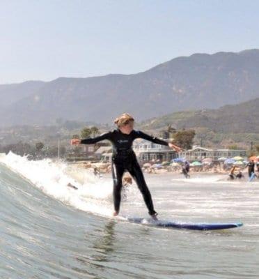 santa barbara surfing lessons