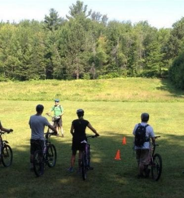 stowe mountain bike lessons