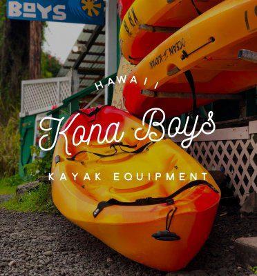 kailua kona kayak rental kona boys