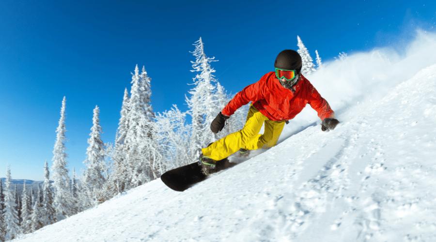 best snowboarding activiites