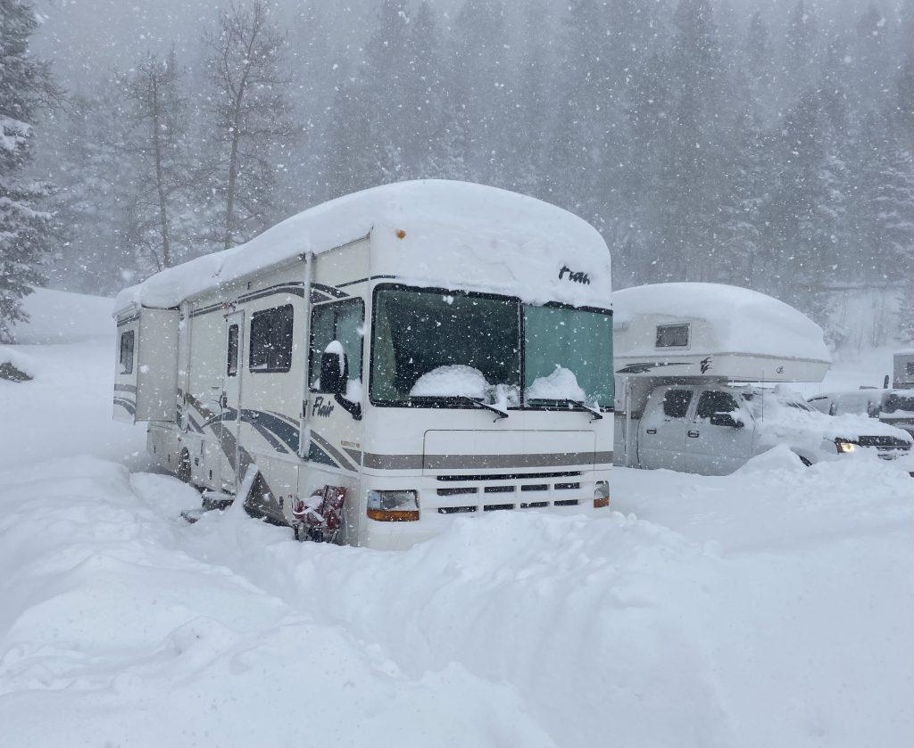 ski resort RV camping
