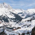 ski resort camping