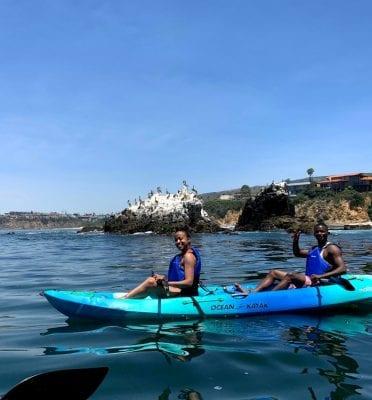 laguna beach ca kayak sup tours & lessons
