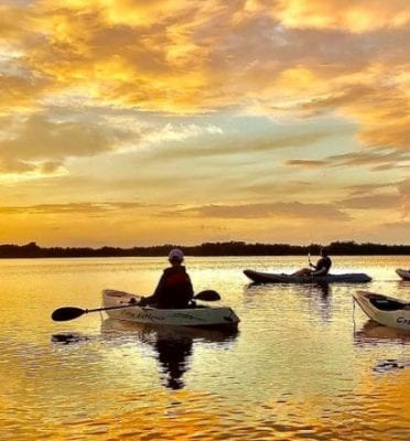 cocoa beach florida kayaking