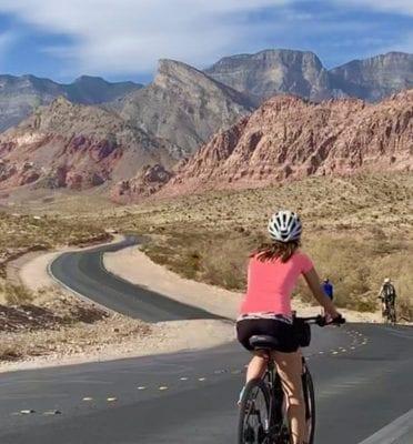 red rock canyon electric biking