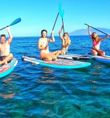 kihei hi sup snorkeling