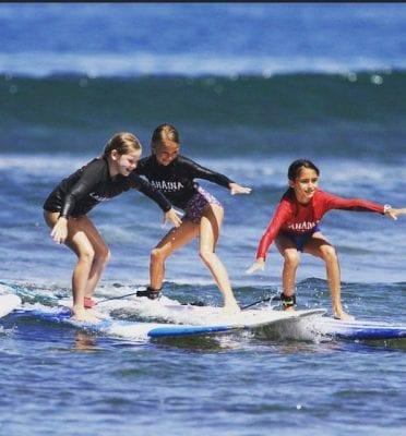 maui hi sup surfing